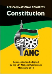 constitution of the ANC